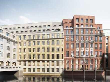 Willkommen in den Stadthöfen – Exklusive 4-Zimmer-Wohnung mit Fleetblick!