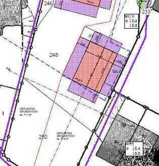 Zwei Süd-West Baugrundstücke a 720 qm