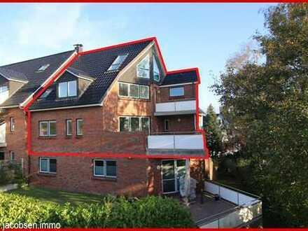 Elegante 5-Zimmer-Maisonette-Wohnung in bevorzugter Wohnlage in Schleswig-Süd
