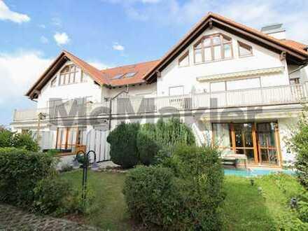 Behaglich und naturnah: 2-Zi.-Erdgeschosswhg. mit großer Terrasse, Garten und Stellplatz