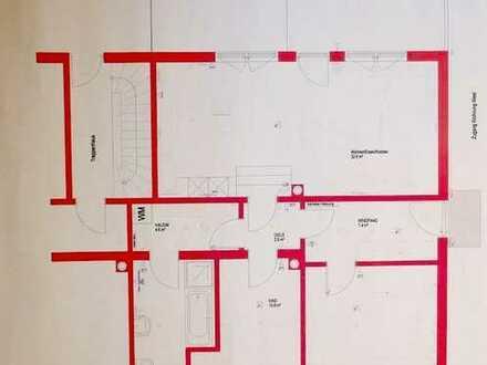 Erstbezug nach Sanierung: stilvolle 3-Zimmer-Terrassenwohnung mit Garten und Einbauküche in Neusäß