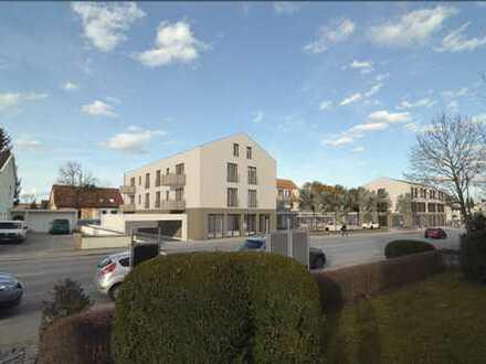 moderne Neubau- Maisonettewohnung mit Balkon
