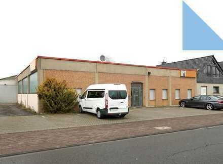 Beheizbare Lager-/Produktionshalle mit Büros im Gewerbegebiet Pulheim-Brauweiler
