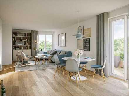 Perfekte 4 Zimmer Wohnung mit 2 Bädern und Balkon