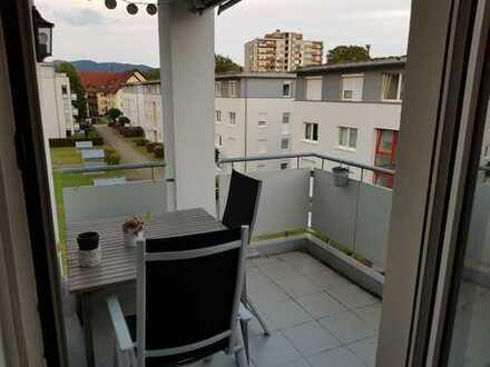 Gepflegte 3-Zimmer-Wohnung mit Balkon und Einbauküche in Schopfheim