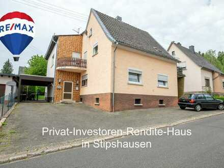Privat-Investoren-Rendite-Mehrfamilienhaus Am Sportplatz 11 in 55758 Stipshausen
