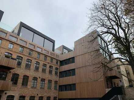 4-Zimmer-Dachgeschoß-Maisonette-Wohnung mit großem Balkon im nördlichen Stadtzentrum von Halle (S.)