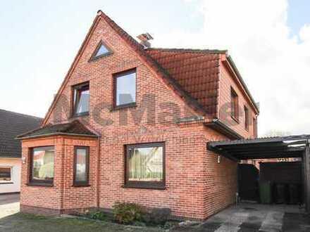 Viel Platz bei Bremen! Großzügiges Zweifamilienhaus mit großem Garten, Wintergarten und Dachterrasse