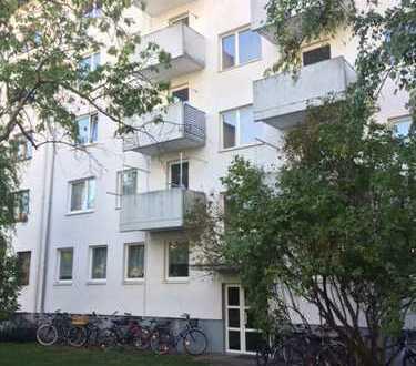 Karlsruhe-Mühlburg 2- Zi Wohnung mit Balkon und Einbauküche