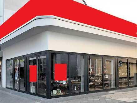Großzügige freiwerdende Gewerbefläche/Ladenlokal in 1-A Lage in Krefeld-Zentrum
