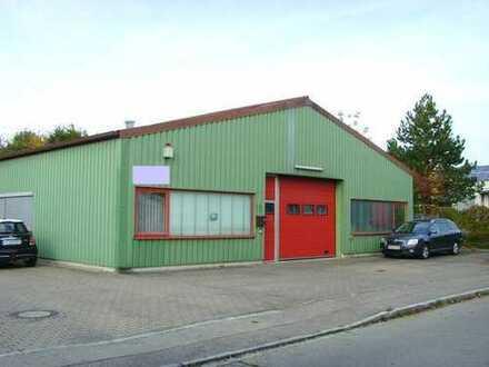 Gewerbehalle in Friedberg-West