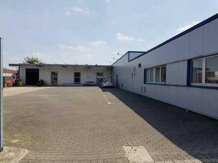 Gewerbehalle, Halle mit Lagerfläche zu vermieten im Industriegebiet Leopoldshöhe