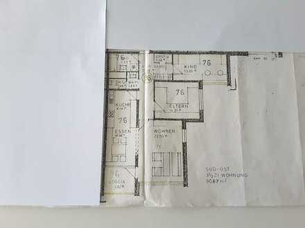 Exklusive, modernisierte 3,5-Zimmer-Wohnung mit Balkon und Einbauküche in Herrenberg