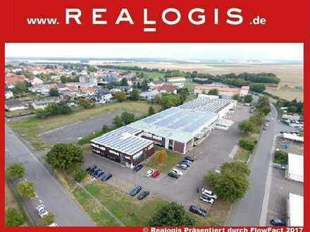 Im Alleinauftrag   ca. 3.900 qm Lager- / Produktionshalle   zur Miete und zum Kauf!