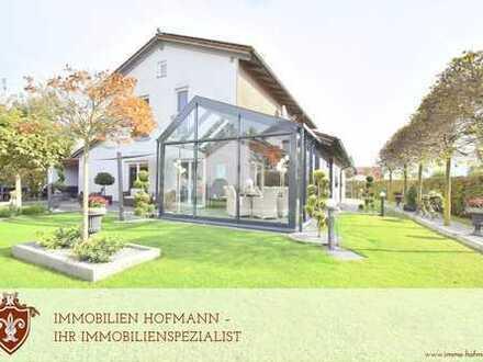 Exklusives Einfamilienhaus mit schönem Wintergarten