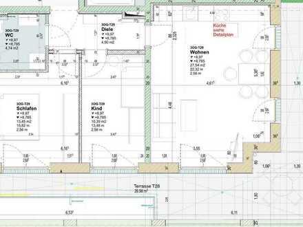 Attraktive 3-Zimmer Penthousewohnung im Neubau !!! (T29)