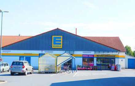 Edeka Supermarkt in verkehrsgünstiger Lage