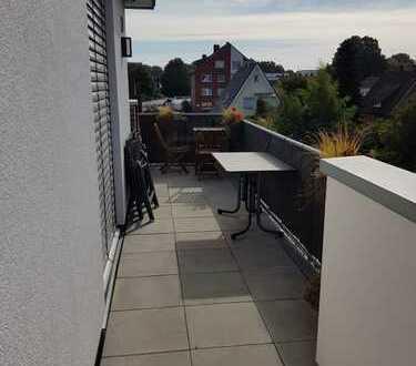 Hochwertige Penthousewohnung mit riesigem Balkon, Gäste-WC und KFZ-Stellplatz!