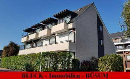 # Büsum/Kurviertel: 1,5 Zimmer Ferienwohnung im 1. OG mit Südbalkon!