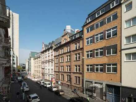 3-Zimmer-Neubauwohnung in Altbauobjekt, ca. 87 m², mit Terrasse, mitten im Bahnhofsviertel!