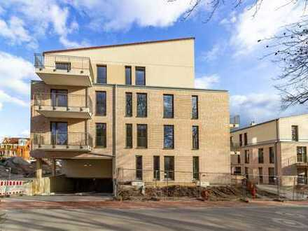 Mitten in Achim - barrierefreie & rollstuhlgerechte 2-Zimmer-Wohnung mit Gartenanteil und Terrasse