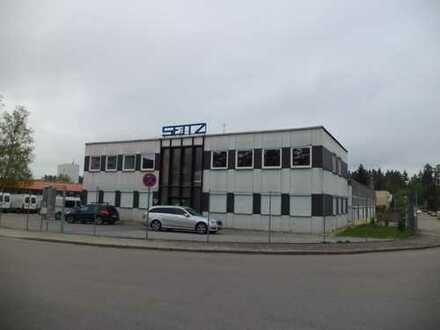 Industriehalle und Büro zur längerfristigen Vermietung in Schwarzenbruck