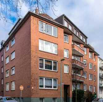 Sanierte 3-Zimmer-Wohnung mit Einbauküche in Duisburg
