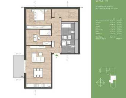 Stilvolle 3,5-Zimmer-Wohnung mit luxuriöser Innenausstattung in Andechs-Erling