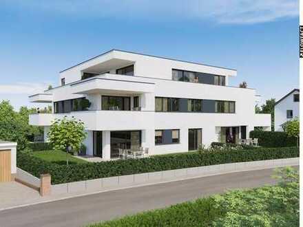Schöne 3,5 Zimmer-Wohnung, barrierefrei - Aufzug, große Terrasse u. Garten, beste Lage