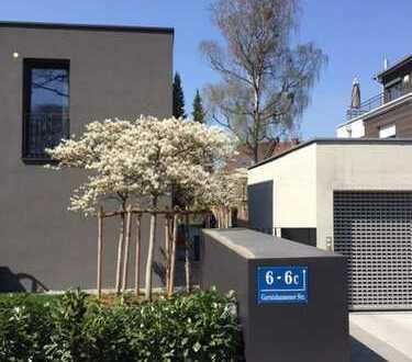 Attraktives, neues Wohnhaus mit vier Zimmern in München-Solln in stadtnaher, ruhigster Lage