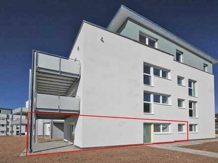 2-Zi.-Erdgeschosswohnung mit separatem Eingang