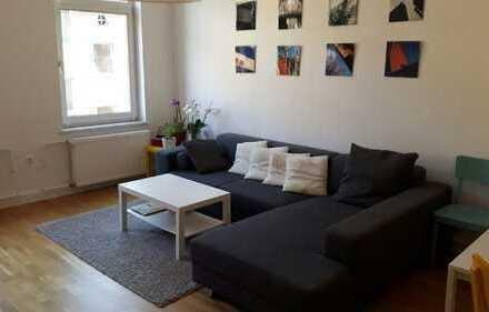 Vermiete ren. 3-Zimmer-Altbauwohnung