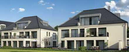 E & Co. - Neubau/Erstbezug! 3 Zimmer DG - Wohnung mit schönem Sichtdachstuhl und Süd/West Balkon.