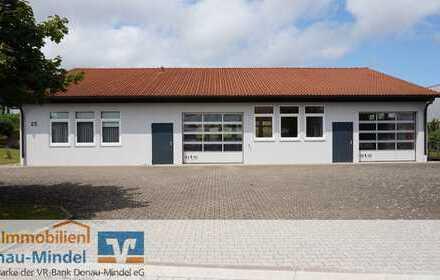 Vermietung-Halle mit Büro in Rettenbach