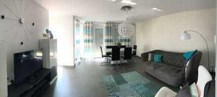 Neuwertige 3-Zimmer-Erdgeschosswohnung mit Terrasse und Einbauküche in Mainaschaff