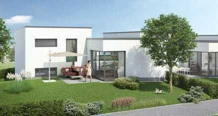 Zuhause in Neuhausen: raffiniertes Splitlevel-Haus auf Erbbaugrundstück mit eigenem Garten