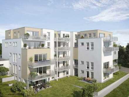 3-Zimmerwohnung mitten in Aidlingen mit Gartenanteil im Grünen und direkt an der Aid.