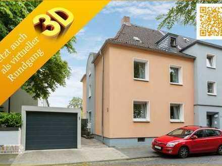 Wohlfühlhaus in ruhiger Lage: Schönes Reihenendhaus in Neudorf-Süd sucht neue Eigentümer.