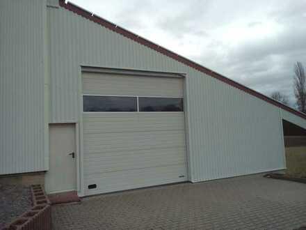 Lagerhalle/Fahrzeugabstellhalle 300m² zu vermieten