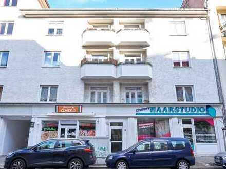 Kapitalanlage für kleines Geld! Vermietete 2-Zimmer-Wohnung mit Balkon im Prinzenviertel!