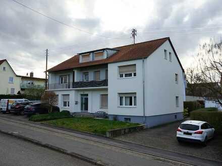 Schöne 2-Zimmer-Wohnung mit Balkon in Eschelbronn