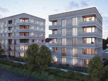 Exklusives Wohnerlebnis auf rd. 87 m² - Loft-Wohnung mit Terrasse und Gartenanteil