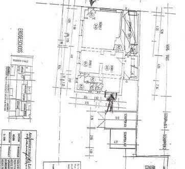 Erdgeschoss, zwei Zugänge, arbeiten und Wohnen kombnierbar