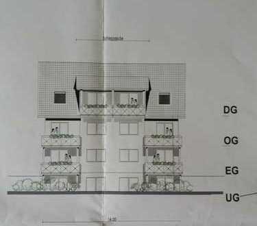 Neubau von 3-4 Zimmer-Wohnungen von 100qm Wohnfläche
