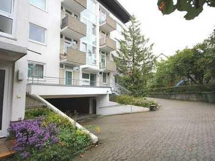 2-Zimmer-Obergeschoss-Wohnung mit 2 Balkonen, Einbauküche, Keller-Abstellraum und Tiefgarage
