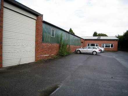 Produktionsgebäude mit Bürofläche und Wohnhaus