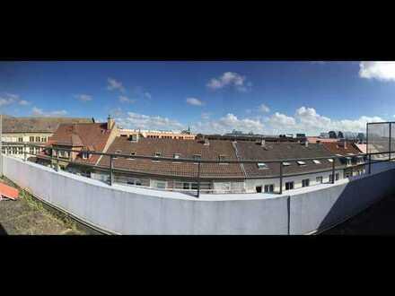 Möblierte Wohnung über den Dächern der Stadt - 7 min. vom KIT