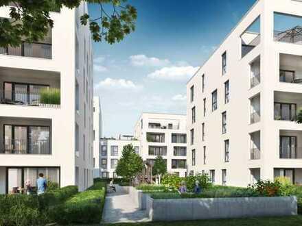 Geschmackvolle 2-Zimmer-Wohnung im Zukunftsquartier FRANKLIN