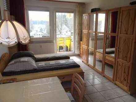 vollmöbliertes Appartement mit Balkon !