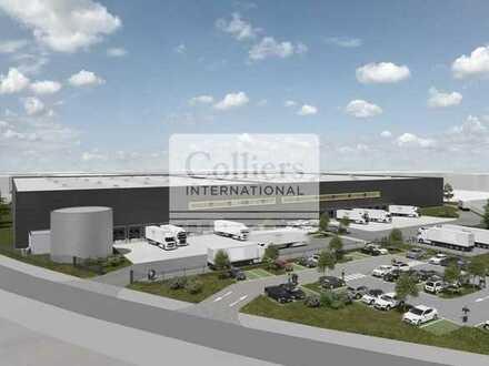 Neubau BTS | Industrie & Logistik | ca. 19.236 m² Hallenfläche | 19 Docks